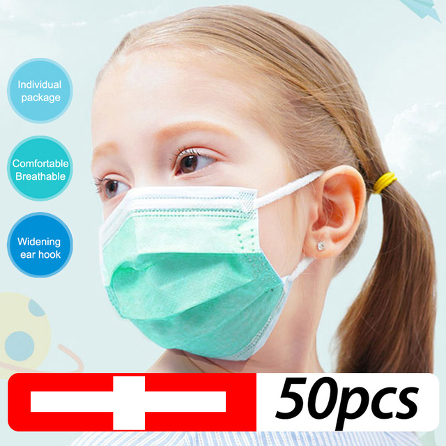 masque chirurgical enfant jetable