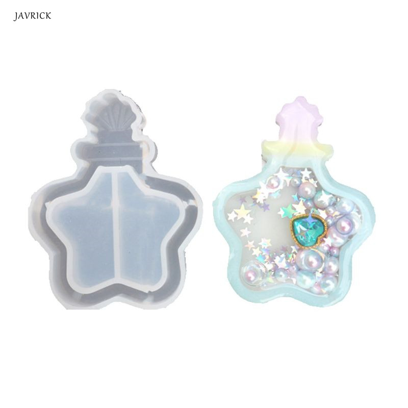 DIY Crystal Epoxy Quicksand Pendant Mold Combination Jewelry Making Resin Silicone Mold Jewelry Pendant Tools