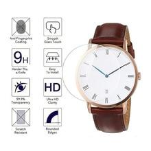 Película protectora de vidrio templado para reloj Daniel Wellington DW, funda protectora de pantalla de diámetro 32mm 34mm 36mm 38mm 40mm