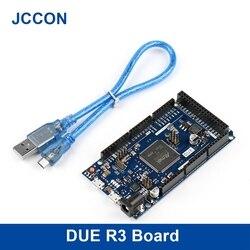 Из-за R3 доска AT91SAM3X8E SAM3X8E 32-битный ARM Cortex-M3 Управление борту модуль для Arduino доска