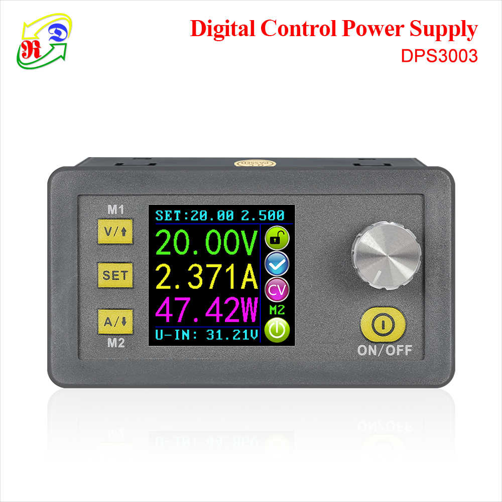 Rd DPS3003 Constante Spanning Stroom Step-Down Programmeerbare Power Supply Module Buck Voltage Converter Kleur Lcd Voltmeter