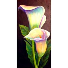 Calla Lily Flower 5D DIY Full Drill Diamond Painting Embroidery Cross Stitch Kit Room Home Decor Craft Tool Q6PE calla lily 5d diy diamond painting diy diamond embroidery flower full diamond inlay home decor
