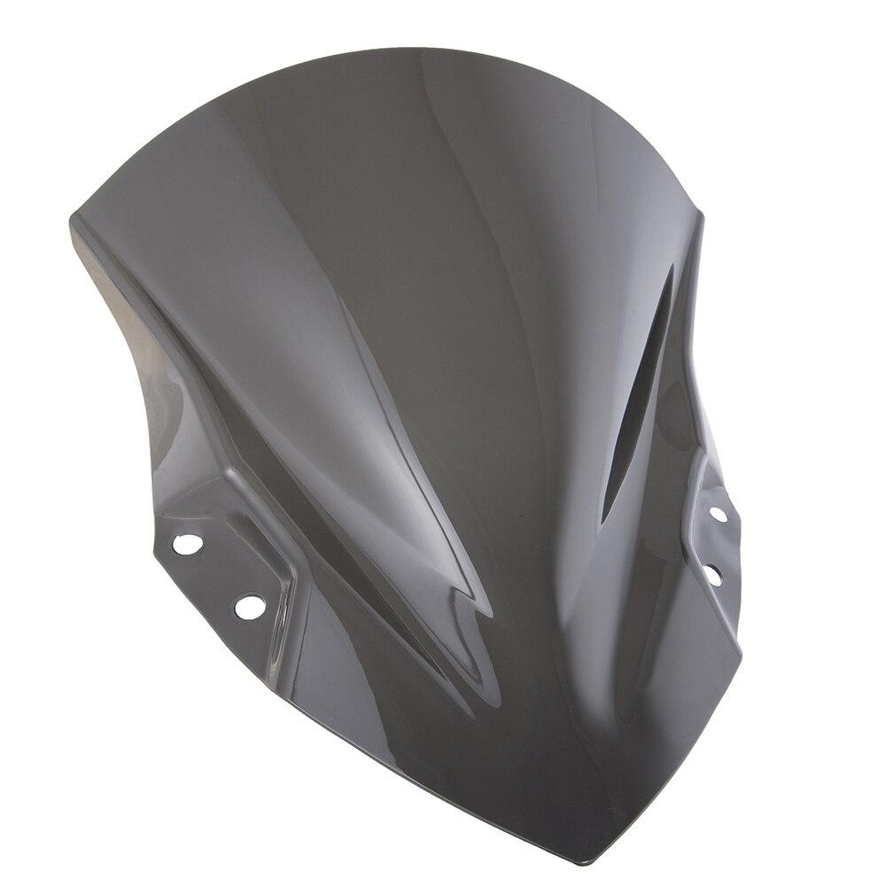 Motorcycle High Quality PC Plastic Windscreen Windshield Baffle Wind Deflectors For 2018-2019 Kawasaki Ninja 400 Ninja400 18 19