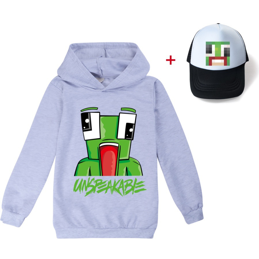 2021 Children Hoodies UNSPEAKABLE YOUTUBER Prestonplayz Boys Long Sleeves T-shirts KidsGirl Clothes T shirts clothes tee tops 6