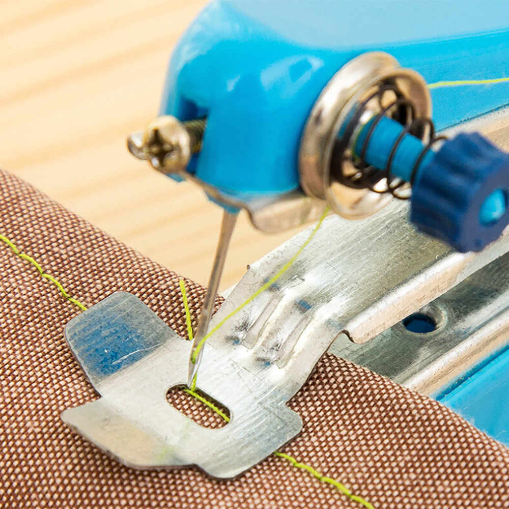 Minimáquina De COSER hecha a mano De tela para ropa sin Costura, máquina De coser a mano Macchina Da Cucire