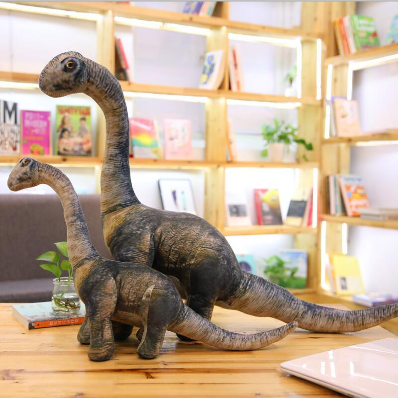 Giant Size Dinosaur Plush Toy Lifelike Earthquake Dragon Tyrannosaurus Rex Dolls Soft Stuffed Animals Boys Birthday Gift