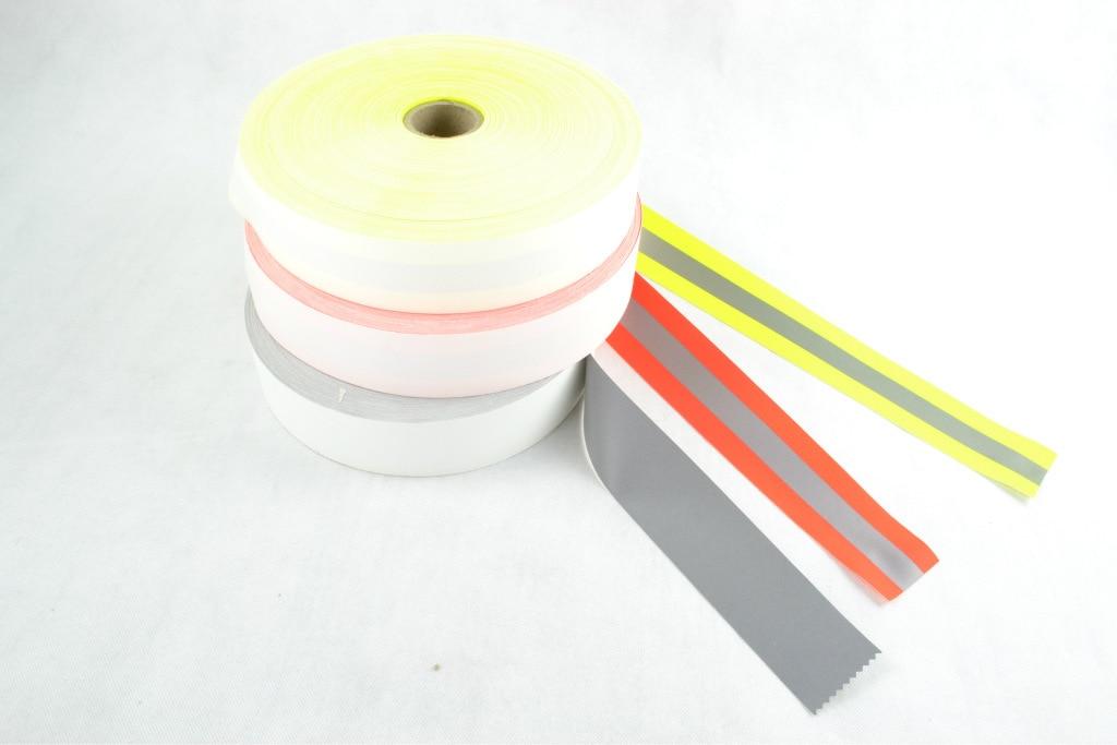 Bright Silver Flame Retardant Reflective Material Flame Retardant Reflective Cloth, Flame Retardant Warning Tape