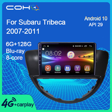 Multimedia-Player Android 10.0 Subaru Tribeca COHO Autoradio Gps Navigation 128G
