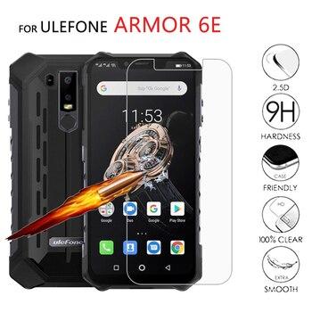 Перейти на Алиэкспресс и купить 2 шт Стекло для Ulefone Armor 6E закаленное стекло для телефона 6,2 дюймЗащитная пленка для экрана устойчивая к царапинам ЖК-пленка для Ulefone Armor 6 E крышка