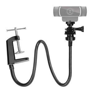 Camera Bracket for Logitech Webcam Brio 4K C925e C922x C922 C930e C930 C920 with Desk Jaw 35EA