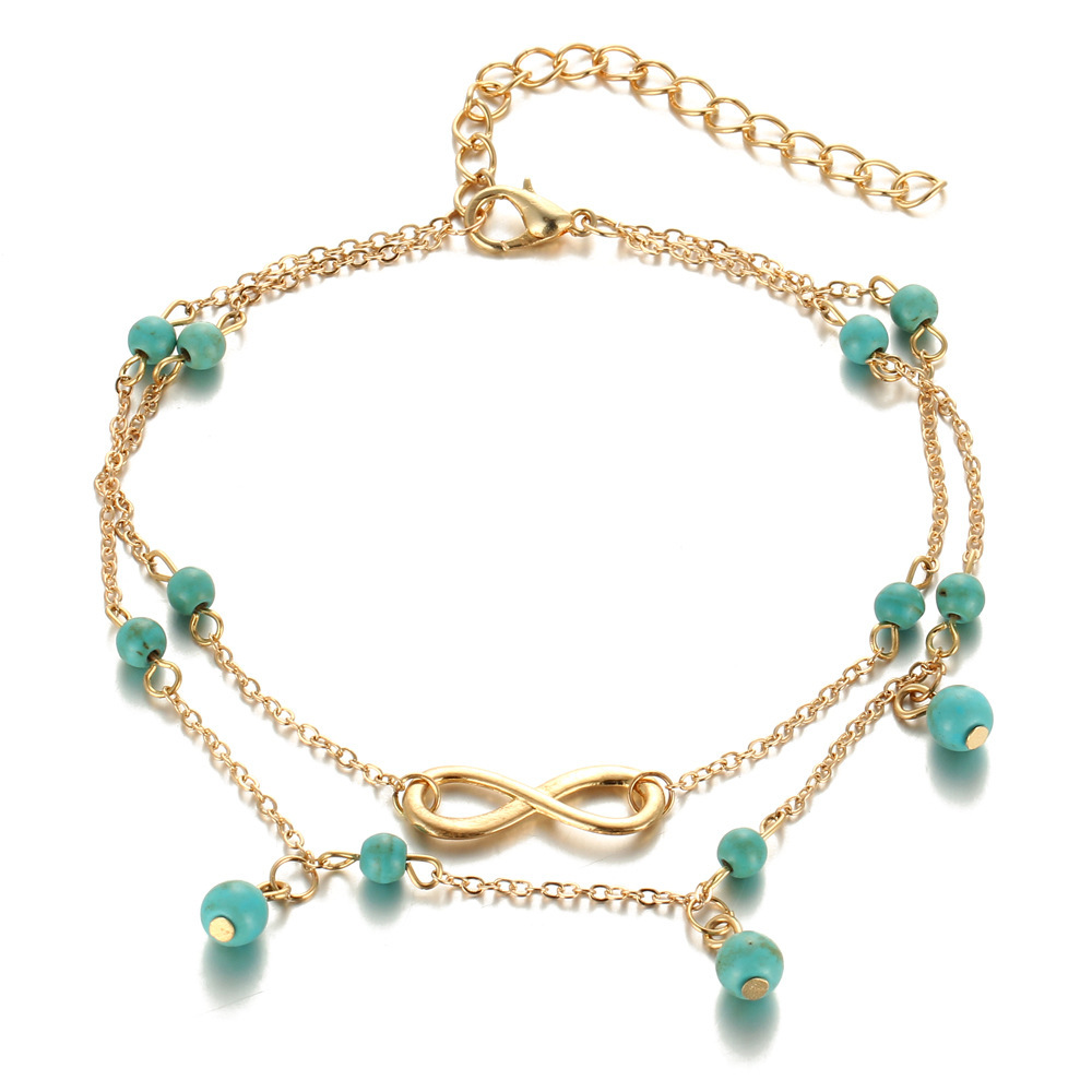 Fashion jewellery anklet Bohemian style