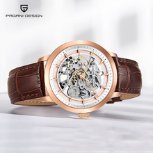 PAGANI DESIGN Watches Automatic Mechanical Watch Men Clock Genuine Leather Waterproof Business Wristwatch Relogio Masculino 2019