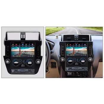 CHOGATH 12.1 ''android 7.1 Vertical Screen system 2+32G Car Radio GPS Multimedia Stereo for TOYOTA Prado  2014-2016