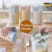 Food Storage Jar Kitchen Storage Bottles Sealed Cans with Cover Large Capacity Candy Biscuit Jars Tea Box Organization creative ceramic large sealed cans with lid storage tank tea cans food storage bottle grain box jars canister kitchen stuff