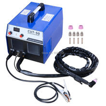 S7 50 Amp Built-In Air Compressor Plasma Cutter Portable Plasma Welder Plasma Cutting Machine IGBT Inverter Digital Plasma Weld plasma a4