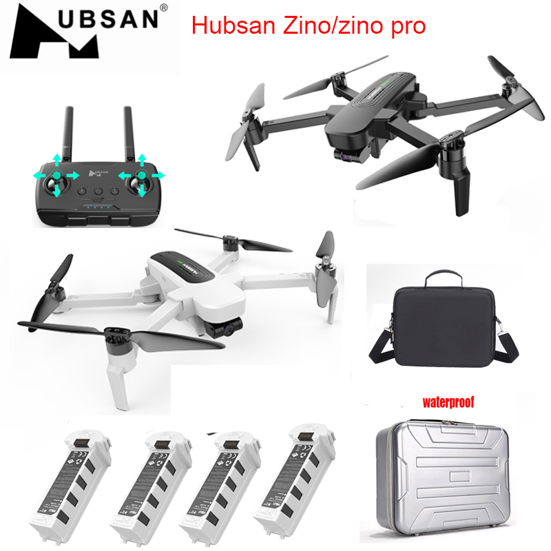 Hubsan Quadcopter Gimbal Camera Rc Drone RTF 4km 3-Axis High-Speed Zino/zino-Pro FPV title=