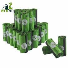 Мешки для собак 450 шт Зеленый Черный Розовый 30 рулонов мешки