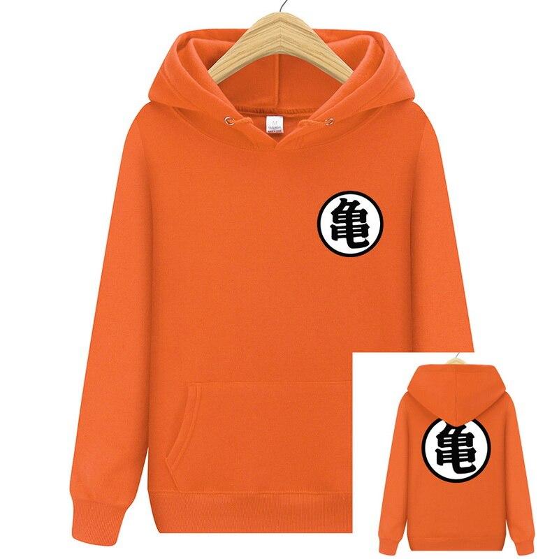 2020 Men Dragon Ball Hoodie Orange Pink Autumn New Spoof Cartoon Fashion Dragon Ball Printing Cotton men Hoodies Sweatshirts