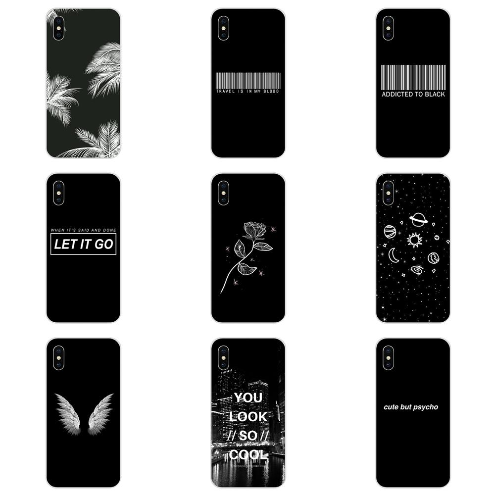 For Huawei Honor 4C 5A 5C 5X 6 6A 6X 7 7A 7C 7X 8 8C 8S 9 10 10i 20 20i Lite Pro Luxury Phone Case Art Black And White Aesthetic image