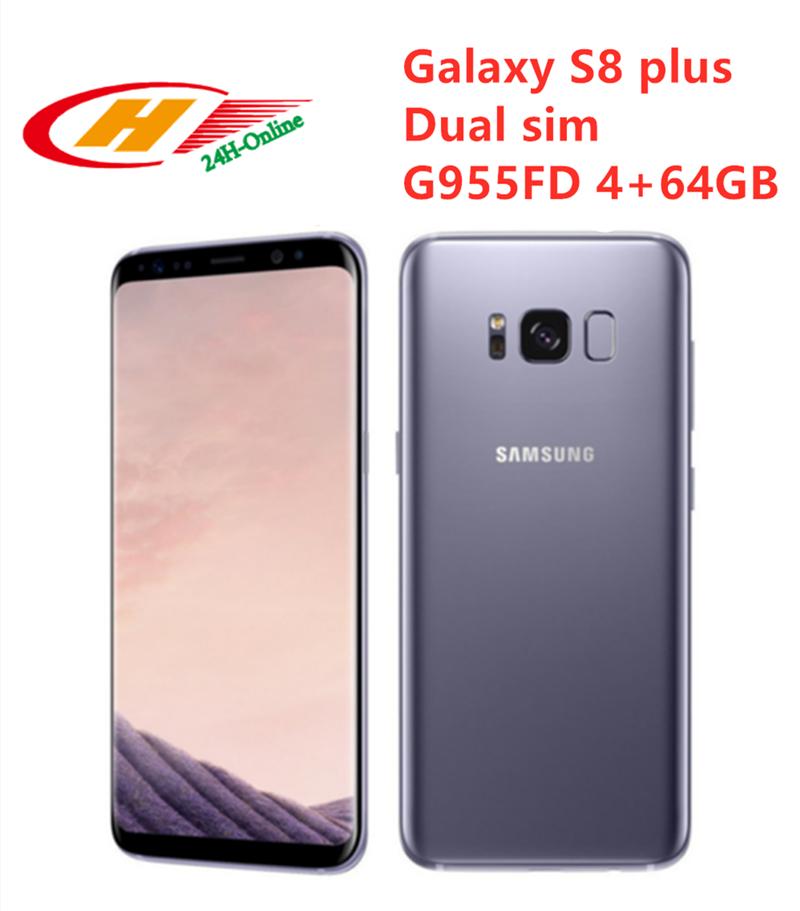 """Entsperrt Samsung Galaxy S8 Plus G955FD Dual Sim 4GB RAM 64GB ROM 6.2 """"Octa Core NFC Fingerprint telefon"""
