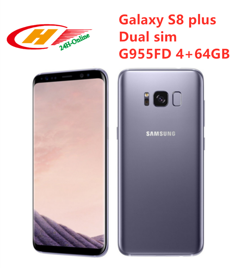 "Samsung Galaxy S8 más G955FD Dual Sim 4GB RAM 64GB ROM 6,2 ""Octa Core NFC huella dactilar teléfono"