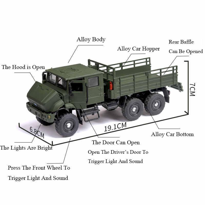 RC Xe Tải Xe Tải Quân Sự Điện Đồ Chơi Điều Khiển Từ Xa Mô Hình Xe Tải Sở Thích 4 Bánh Xe Đồ Chơi Tự Động Quân Đội Xe Đồ Chơi Cho món Quà Cho Bé Trai