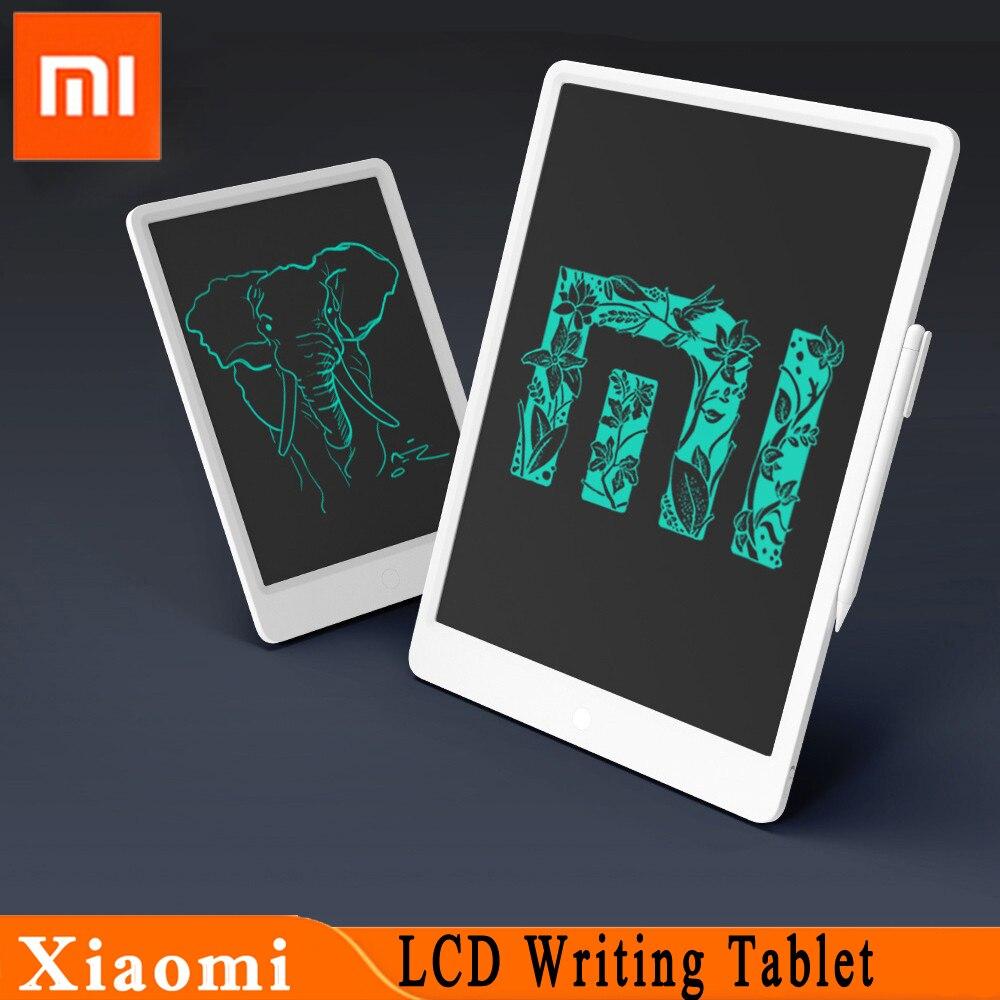 [해외] 새로운 원본 xiaomi mijia lcd 쓰기 태블릿 펜 디지털 그리기 전자 필기 패드 메시지 그래픽 보드