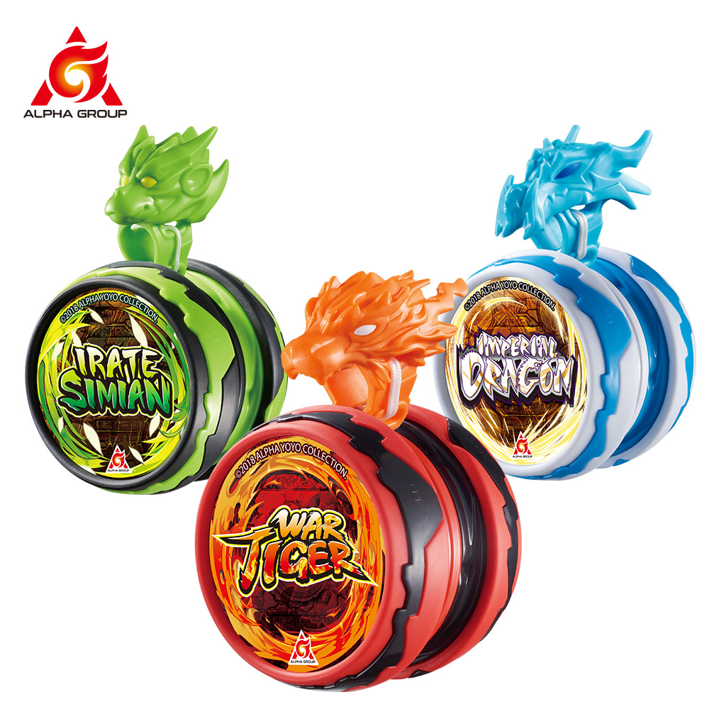 2020 New Blazing Team Beast Warrior Series Polyester String Magic YoYo Funny Professional Kids Toys For Boys Children Gifts(China)