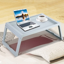 Portable Foldable Desk Laptop Stand Lapdesk Computer Notebook Multi-Function Table Office Breakfast Bed Tray Serving Table