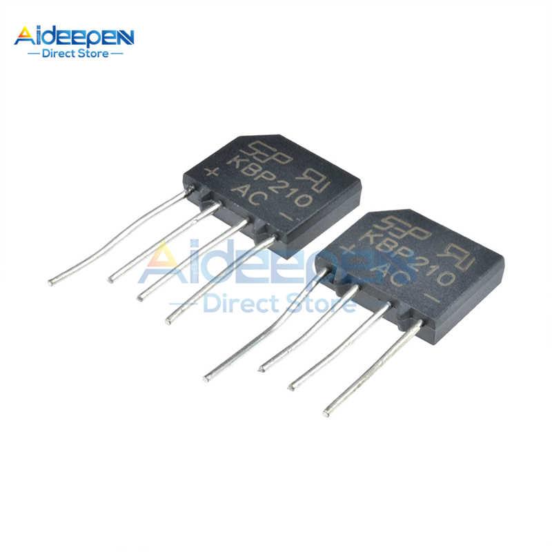5 teile/los KBP206 KBP210 KBP310 Diode Bridge Rectifier KBP-1000V/600V-2A/1A Brückengleichrichter 4 Pin Neue Original