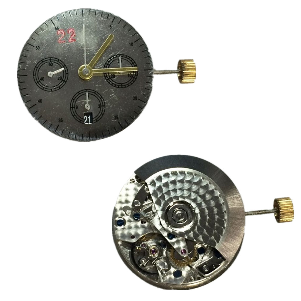 Replacement 7750 Clone Automatic Watch 6 Date 7750 Movement Chronogrpah For 7750