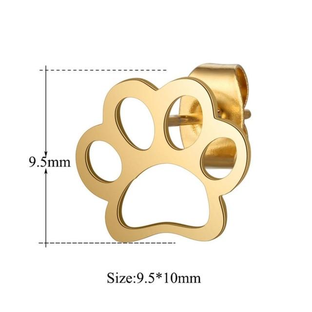Dog Paw  Earrings  3