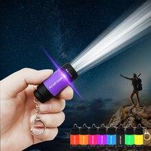Mini linterna Led recargable por USB% 2C linterna port% C3% A1til de 5W% 2C llavero% 2C l% C3% A1mpara непроницаемый para acampar% 2C Cargador USB