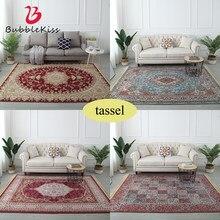 Estilo europeu tassel tapetes macios para sala de estar quarto tapetes para casa tapete delicado macio área quente tapete da porta do assoalho decorar