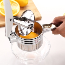 New Manual Potato Masher Ricer Stainless Steel Baby Food Strainer Fruit and Vegetables Juicer Press Maker Squeezer