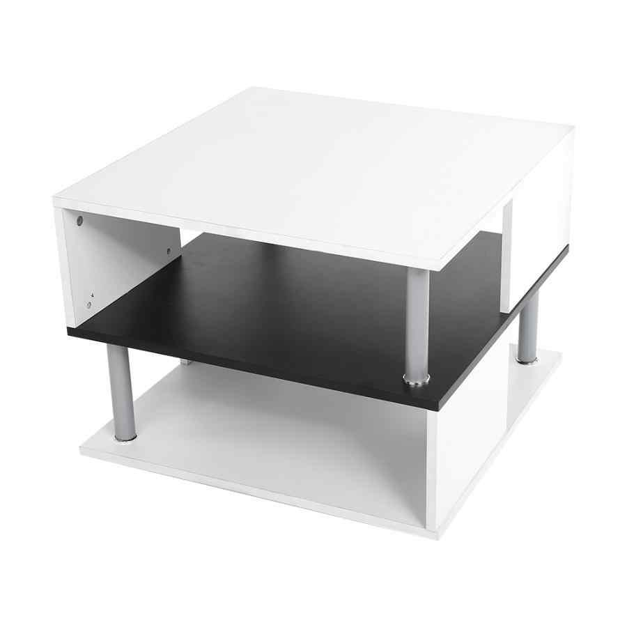 Garden Furniture 6060457cm Modern Stylish Coffee Table Tea Table Living Room Fruit Books Storage Rack Living Room Table