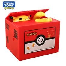 Toys Panda Doraemon Pokemon-Spaarpot Automatic PVC for Kids Poison Money-Saving-Box Pika