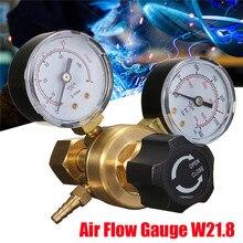 Мини аргон CO2 газовый регулятор давления в бутылках MIG TIG сварочный расходомер W21.8 1/4 резьба 0-20 МПа регулятор