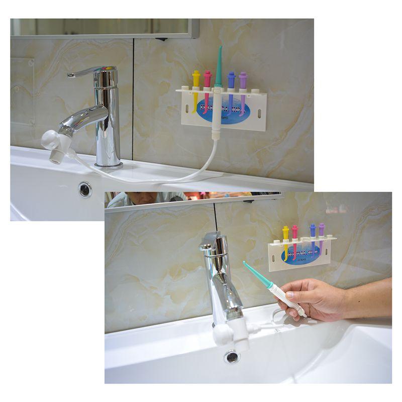 fio de agua conveniente util irrigator oral 04