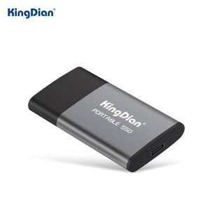 KingDian External SSD 1tb 500gb Hard Drive Portable SSD 120gb 250gb SSD USB 3.0 Type C External Solid State Drives For Laptop