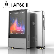 Hidizs AP60 II HiFi Potable Bluetooth 4,0 Apt-x DSD USB DAC FLAC, AAC mono MP3 reproductor de música AKM4452VN MAX97220A AP60II AP60 II(China)