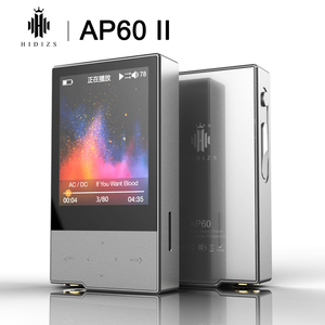 Музыкальный плеер Hidizs AP60 II, HiFi, Bluetooth 4,0 Apt-x DSD USB DAC FLAC AAC APE MP3 AKM4452VN MAX97220A AP60II AP60 II