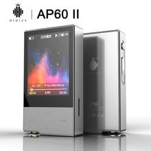 Hidizs AP60 II HiFi Potable Bluetooth 4.0 apt x DSD USB DAC FLAC AAC APE MP3 odtwarzacz muzyczny AKM4452VN MAX97220A AP60II AP60 II