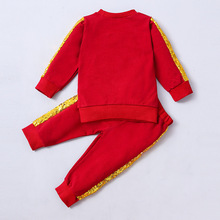 Toddler Baby Girls Kids Clothes Sets Spring Autumn Solid Long Sleeve Shirt Tops + Pants 2PCS Outfit Casual Sport Clothing цена 2017