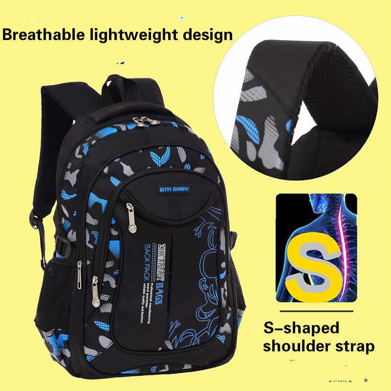 Wodoodporne torby szkolne dla dzieci dziewczyny chłopcy dzieci tornister plecak ortopedyczny tornistry plecak do szkoły podstawowej mochilas infantil