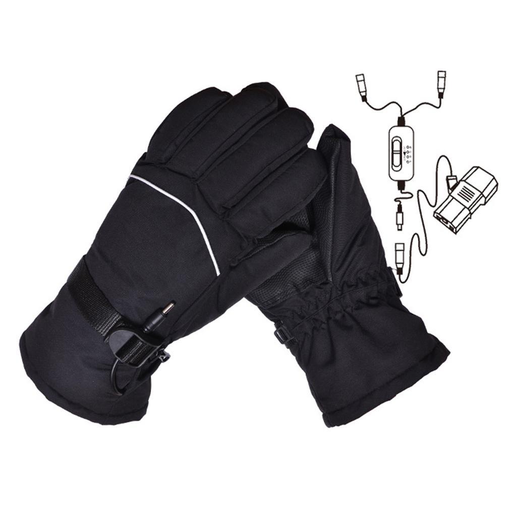 Waterproof Smart Heated Men Women Electric Heat Warm Electromobile Sports Gloves