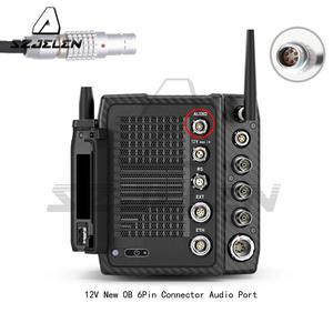 Image 3 - Alexa Mini LF linii Audio, XLR 3Pin do nowego 0B 6Pin męskie złącze Audio Port podwójna ścieżka kabel do kamery ARRI Alexa Mini LF