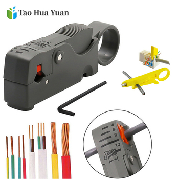цена на 1pcs Automatic Stripping Pliers Wire Stripper Wire Cable Tools Cable Stripper Pliers Decrustation Pliers Hand Tools Dropshing AA