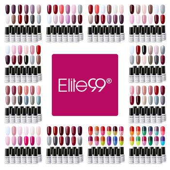 Elite99 12 pieces/set 7ml Pure Color Gel Polish Set Soak Off Temperature Color Changing Gel Lacquer Nail Art Manicure Varnish