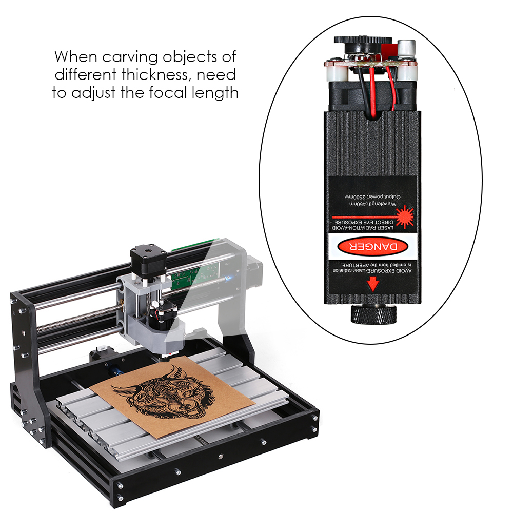 500mw/ 2500mw/5500mw Focusable for CNC Engraving Laser Engraving engraver CNC Laser Module cnc router laser engraving machine